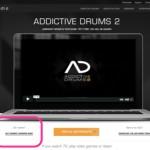 XLN Audio Addictive Drums2 へのアップデート方法。