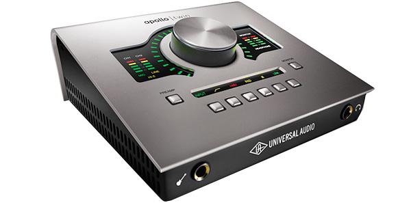 UAD-2プラグイン搭載オーディオインターフェース Universal Audio 「Apollo Twin」 レビュー。