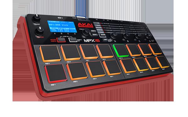 AKAIがSDカードを採用したコンパクトサンプラーMPX16をリリース。