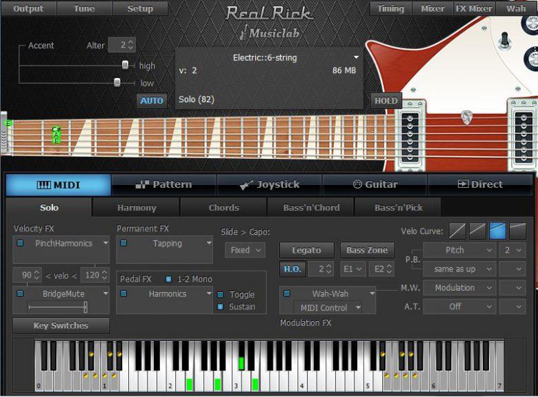 REAL GUITARでおなじみのMusic Labがエレキギター音源「REAL RICK」を発表。待望のAAX対応も!