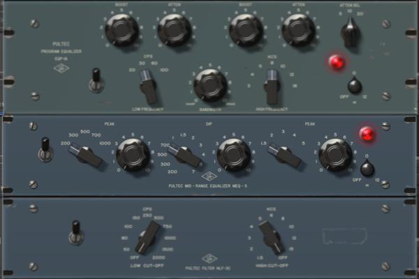 Universal Audio 「Pultec Passive EQ Plug-In Collection」 レビュー。