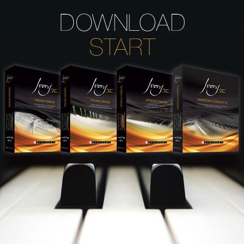 Synthogy IvoryⅡシリーズのダウンロード販売がスタート。Mac OSX Yosemiteにも正式対応。