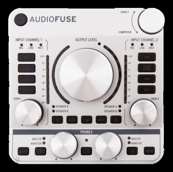 Arturiaがあらゆる環境に対応する次世代オーディオインターフェース「AUDIOFUSE」を発表!