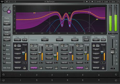 Waves C6を導入。