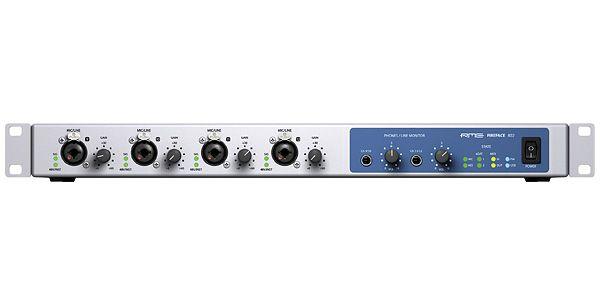 RMEが名器と呼ばれるオーディオインターフェース「Fireface 800」の後継機「Fireface 802」をリリース。